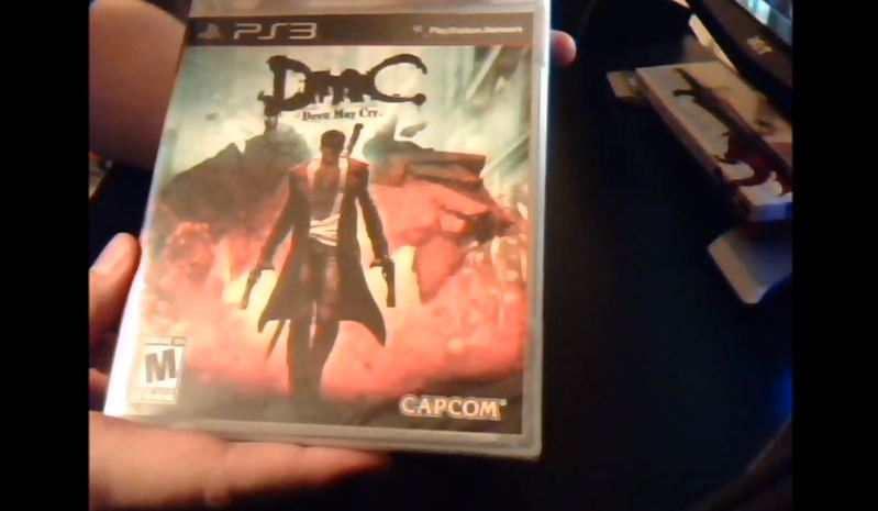 DmC Unboxing Pic