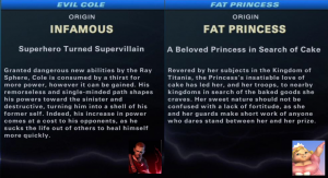 Evil Cole vs Fat Princess