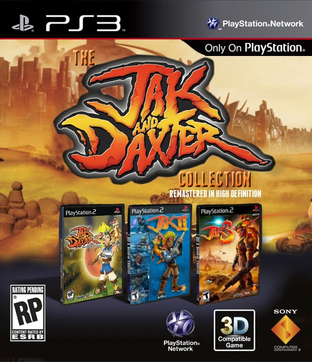 [DF] The Jak and Daxter Trilogy [PS3][MULTiLANGUES]